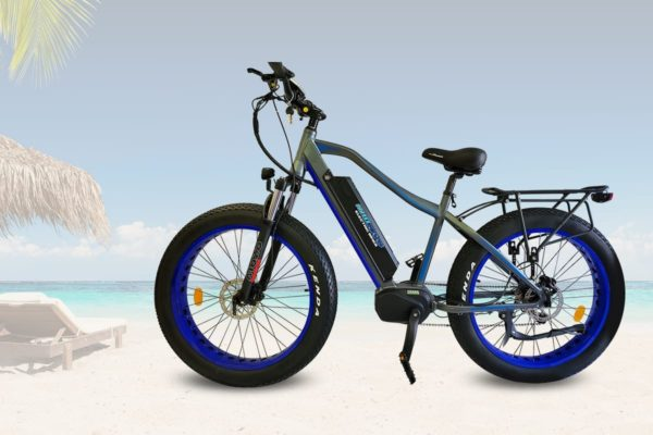 Blue electric bike 500 watts motor drive Reno & Sparks Nevada