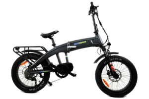 Grey electric bike 500 watts motor drive Reno & Sparks Nevada