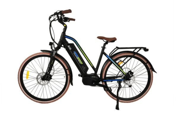 MDC500Black2020 mid drive electric bike silver- sparks, nv
