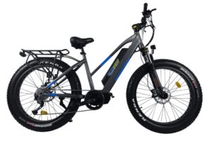Grey electric bike 500 watts motor mid drive Reno & Sparks Nevada